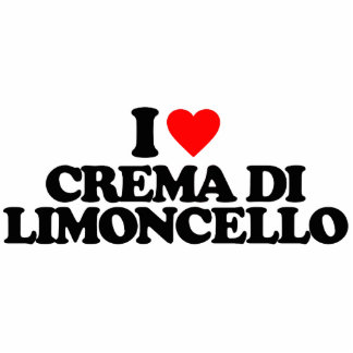 I LOVE CREMA DI LIMONCELLO PHOTO SCULPTURES