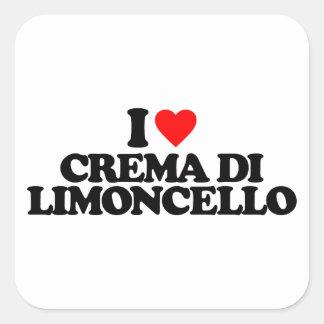 I LOVE CREMA DI LIMONCELLO STICKER