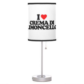 I LOVE CREMA DI LIMONCELLO TABLE LAMP