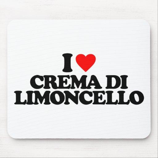 I LOVE CREMA DI LIMONCELLO TAPETES DE RATÓN