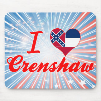 I Love Crenshaw, Mississippi Mouse Pad