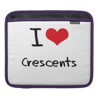 I love Crescents iPad Sleeves