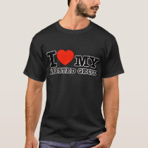 I Love crested gecko T-Shirt