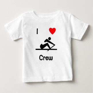 I Love Crew (2) Infant T-shirt