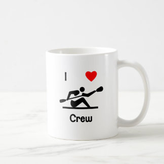 I Love Crew Coffee Mug