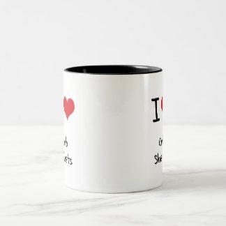 I love Crib Sheets Coffee Mug