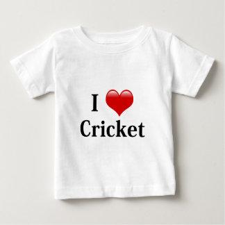 I Love Cricket Baby T-Shirt