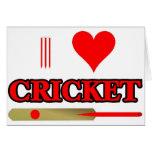 I Love Cricket Card