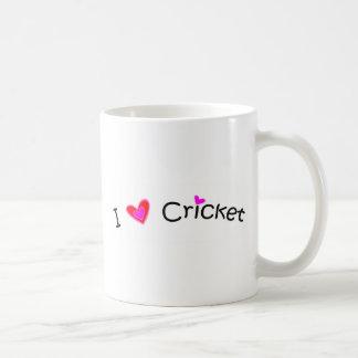 I Love Cricket more sports Mugs