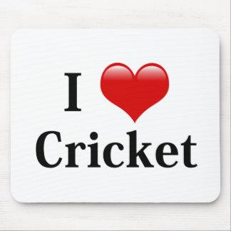 I Love Cricket Mouse Mat