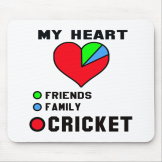 I love Cricket. Mouse Pad