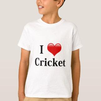 I Love Cricket T-Shirt