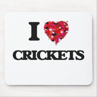 I love Crickets Mouse Pad