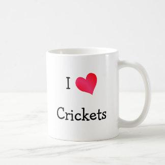 I Love Crickets Mugs