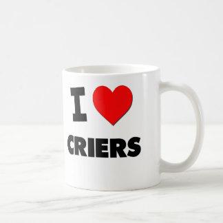 I Love Criers Coffee Mug