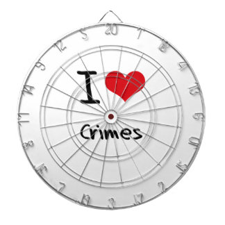I love Crimes Dartboards