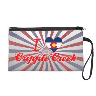 I Love Cripple Creek, Colorado Wristlet