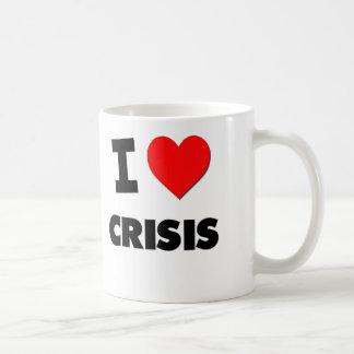 I love Crisis Classic White Coffee Mug