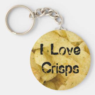 I Love Crisps v1 Keychain