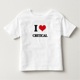 I love Critical Tshirts