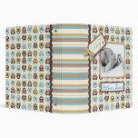 I Love Critters 1.5in Baby Album 3 Ring Binders
