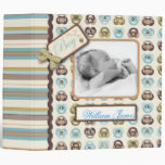 I Love Critters 2in Baby Album 3 Ring Binders