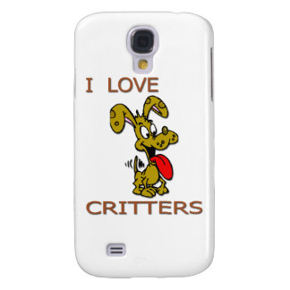 I love Critters D Galaxy S4 Cover
