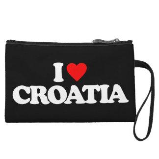 I LOVE CROATIA WRISTLET PURSE