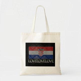 I love Croatia Cool Tote Bags