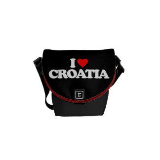 I LOVE CROATIA COURIER BAGS