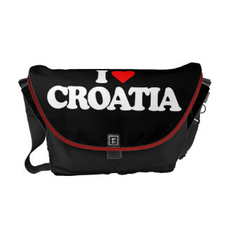 I LOVE CROATIA COURIER BAG