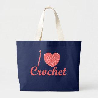 I Love Crochet Bag