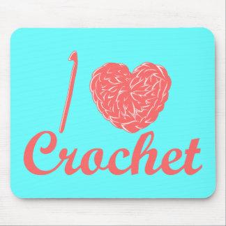 I Love Crochet Mousepad