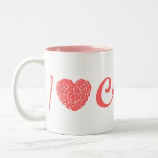 I Love Crochet Mug