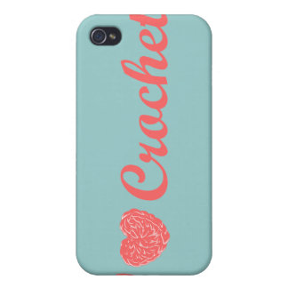 I Love Crochet Speck Case iPhone 4/4S Covers