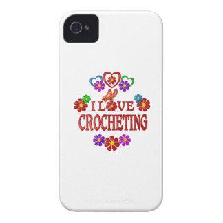 I Love Crocheting Case-Mate iPhone 4 Case