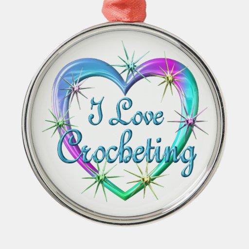 I Love Crocheting Christmas Ornaments