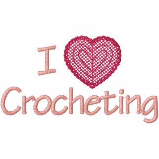 I Love Crocheting Hoodie