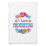 I Love Crocheting iPad Mini Case
