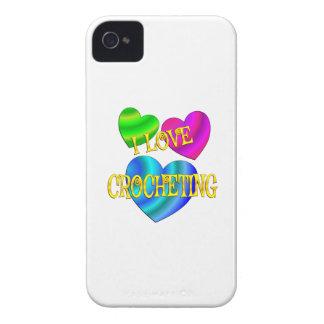 I Love Crocheting iPhone 4 Case