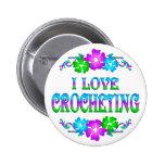 I LOVE CROCHETING PIN