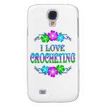 I LOVE CROCHETING SAMSUNG GALAXY S4 CASES