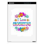 I Love Crocheting Skin For iPad 2