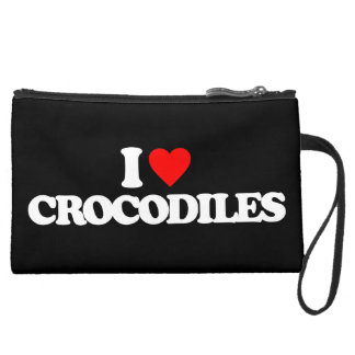 I LOVE CROCODILES WRISTLET