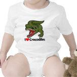 I Love Crocodiles T Shirt