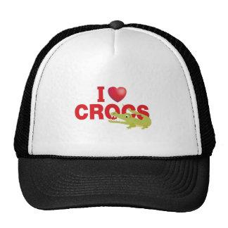 i love crocs trucker hat