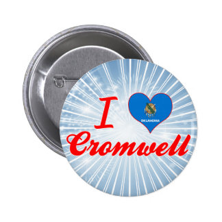 I Love Cromwell, Oklahoma Buttons