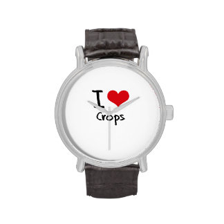 I love Crops Wristwatch