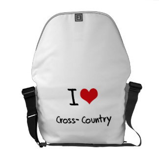I love Cross-Country Messenger Bags