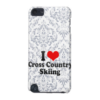 I love Cross Country Skiing iPod Touch (5th Generation) Case